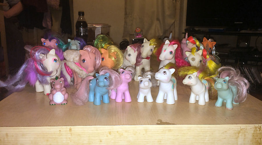 My Little Pony - Generation 1 - Pre-Restoration